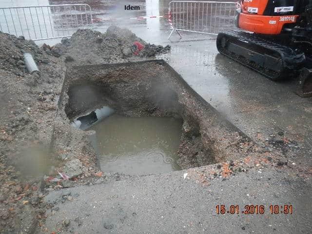 D tection de fuite dans une conduite souterraine d 39 eau sous pression cibor - Colmater une fuite d eau sous pression ...