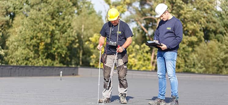 Détection de fuites dans les toitures et contrôles préventifs