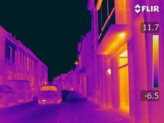 Détection des ponts thermiques