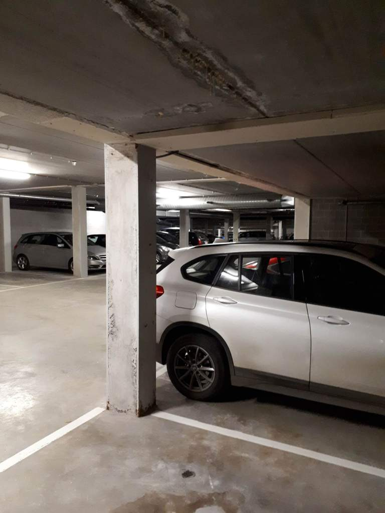 Opsporen van lekken in parkeergarages