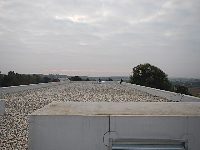Leak detection in roofs and preventive checks