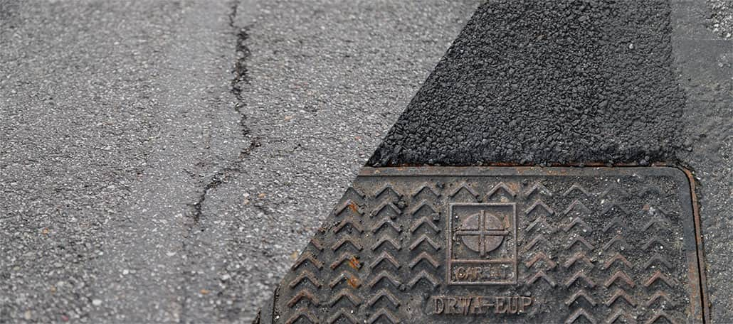 Herstellen van betonvloeren en asfalt