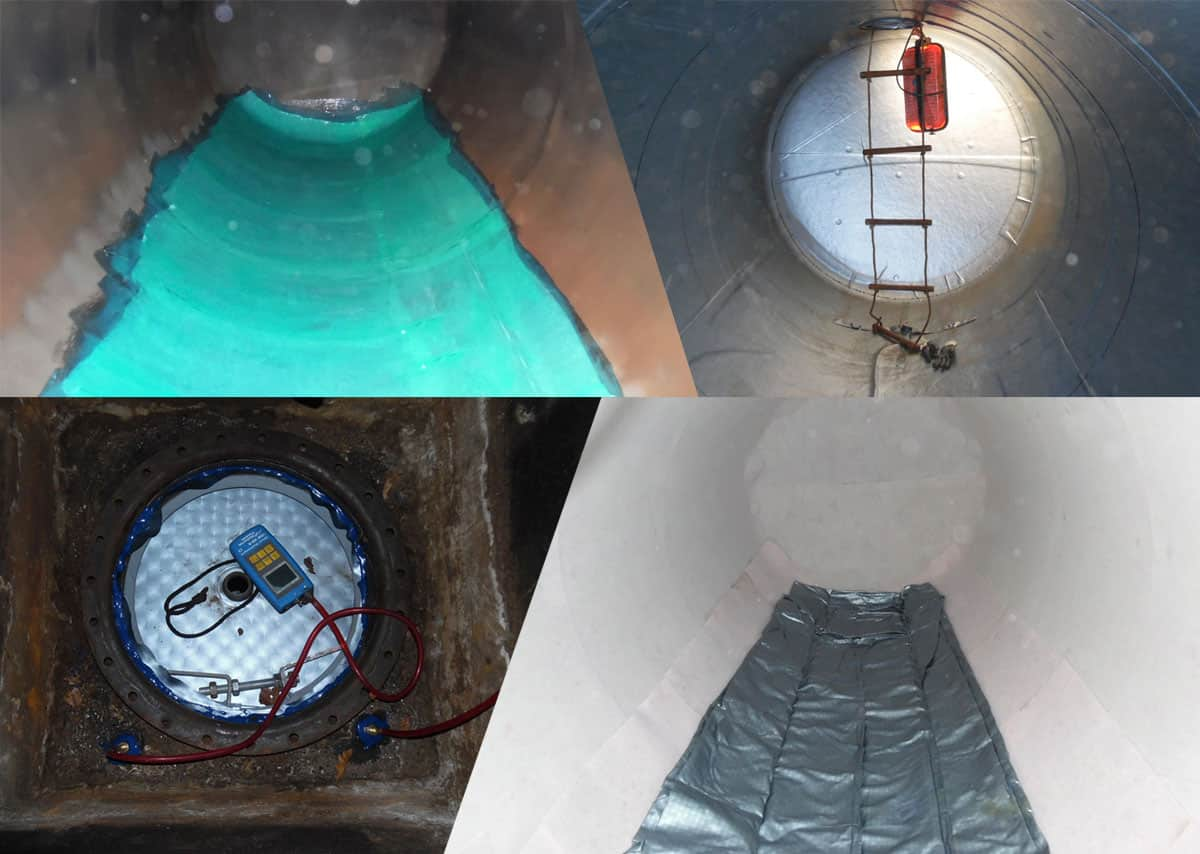 Prevention and repair of leaks in fuel storage tanks