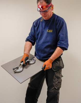 Removal of floor and wall tiles using the TRH technique®